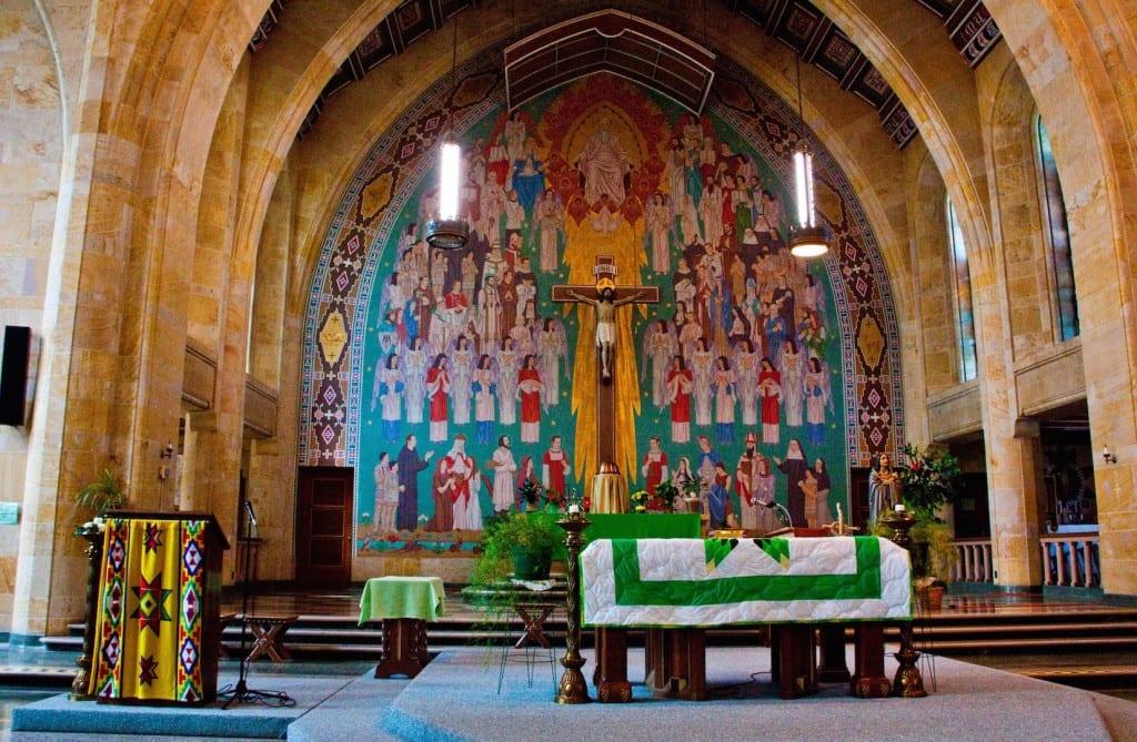Inside St Pauls Indian Mission