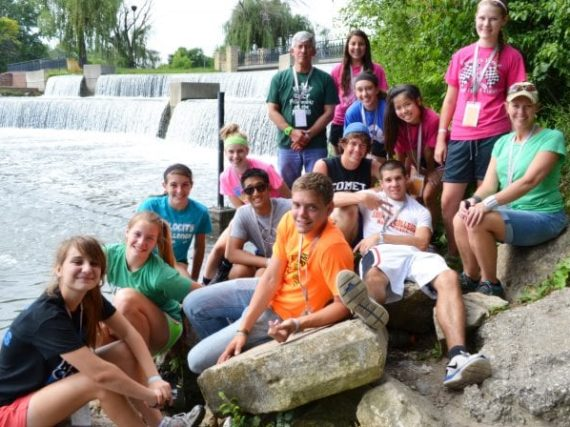 High School summer mission trips Youth Unlimited