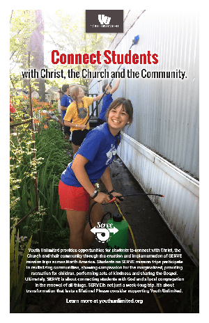 Youth Group Mission Trip Bulletin Insert