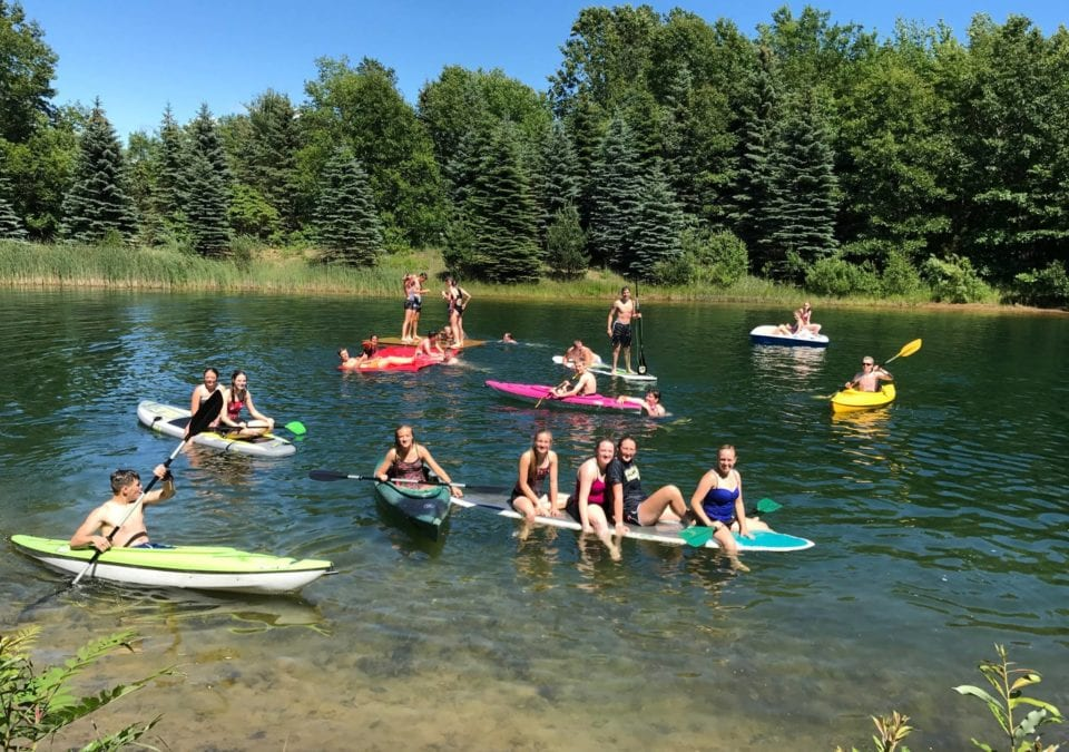 Holland Michigan Lake Day