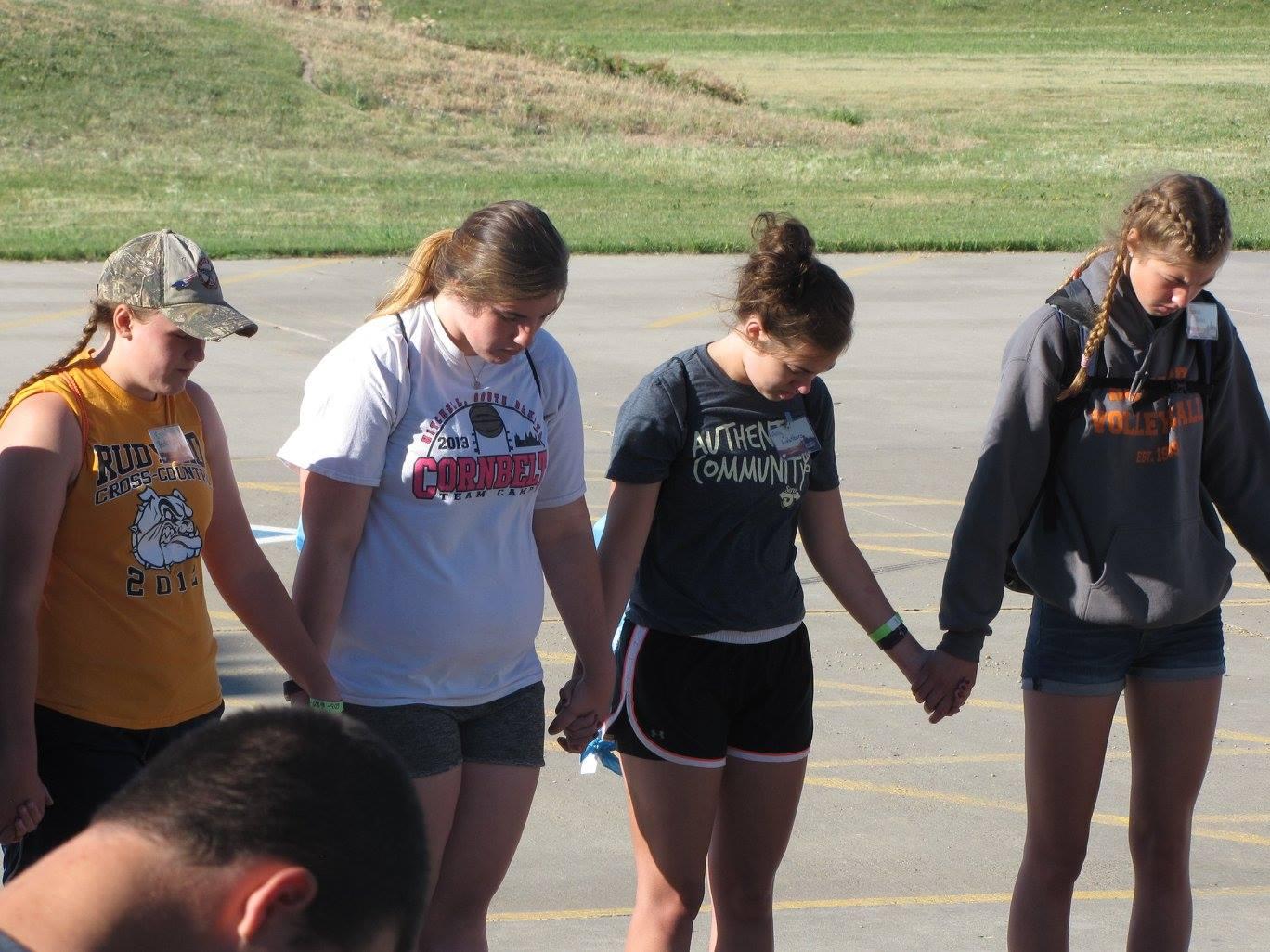 Prayer at Platte SERVE