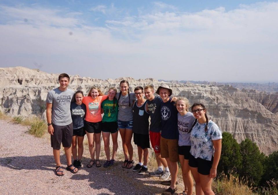 Students at Prairie SERVE 2017