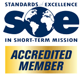 Standards of Excellence in Short-Term Mission (SOE) Accredited Member logo