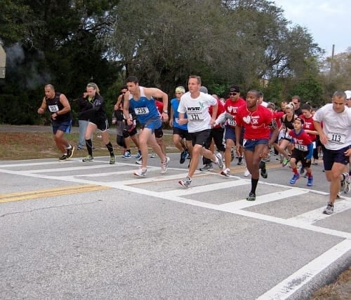 5K race fundraiser for youth group mission trips