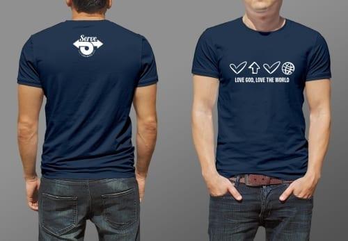 T-shirt mission trip fundraiser idea