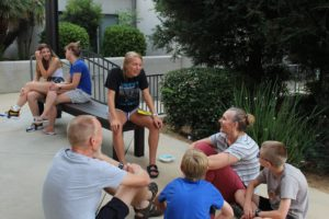 Teen mission trip groups